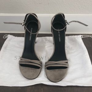 Brand new Stuart Weitzman Strappy Heels. Size 6!